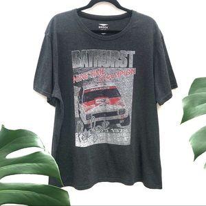 Peter Brock Holden Bathurst 1978 Grey T-Shirt